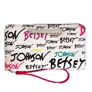 (NEW) Betsey Johnson Multi-Color Wristlet Wallet